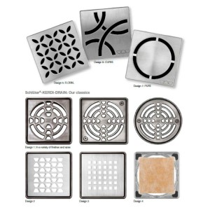 Решетки за подови сифони KERDI-DRAIN
