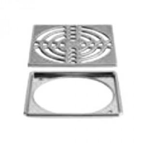 Комплект решетка с рамка KERDI-DRAIN-R