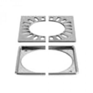 Комплект решетка с рамка KERDI-DRAIN-RL