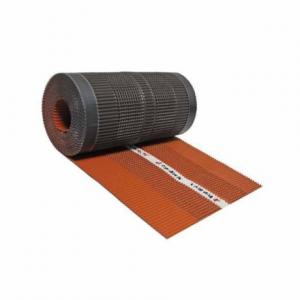 Вентилaционна лента за било 5 m / 320 mm , алуминий , кафява