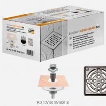 Комплект за точково отводняване KERDI-DRAIN set KD 10 V50 GV ED1 S