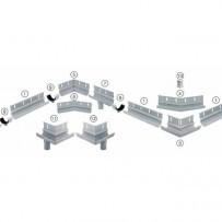 BARIN комплект за свързване с водосточни тръби