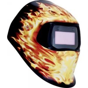 Шлем заваръчен апликация Пламъци 751220, 100V 3/8-12
