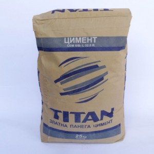 Пуцоланов цимент Титан CEM IV /B 32,5 N - 25 кг.