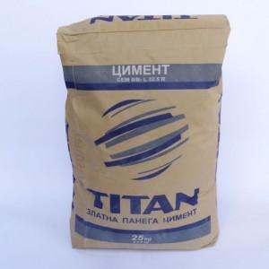 Пуцоланов цимент Титан CEM IV /A 42,5 N - 25 кг.