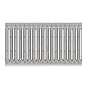 Комплект отводнителни канали 4 ALL , решетка A15 от поцинкована стомана , отвори 8 mm