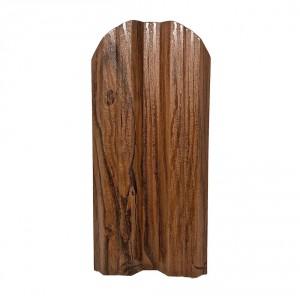 едностранно 1.20 м. Dark Wood Box + крепежи
