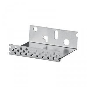 Профил цокълен алуминиев Баумит Профил цокълен алуминиев , 8 см. , 2.5 м.