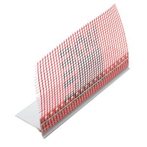 PVC профил с водооткап Баумит Профил цокълен универсален , 2.5 м.