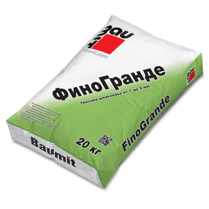 Гипсова шпакловка за вътрешно полагане Баумит ФиноГранде , 20 кг.