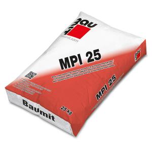 Варо-циментова фина машинна мазилка Баумит МPI 25 ,  25 кг.