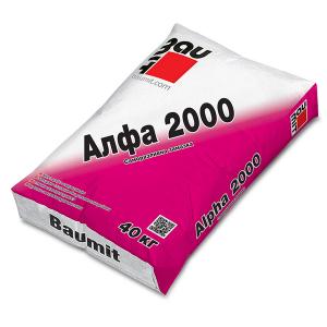 Саморазливна замазка Баумит Алфа 2000 , 40 кг.