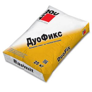 Лепило за топлоизолация Баумит ДуоФикс ,  25 кг.