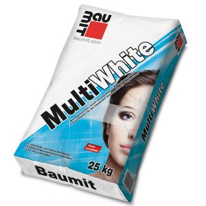 Бяла реновираща шпакловка Баумит МултиУайт , 25 кг.