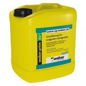 Дълбокопроникващ грунд weber.prim 801 (Eurolan TG2) , 30 л.