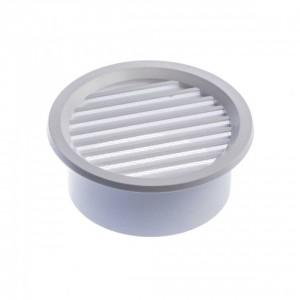 Решетка вентилационна кръгла с мрежа Ф110 мм (16610)