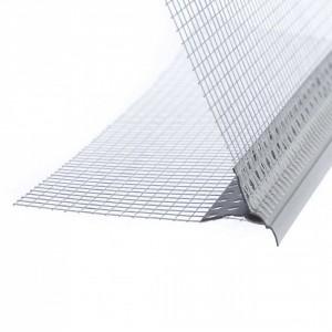 Ъгъл водооткапващ PVC 10 x 10 см / 2.5 м (11220)