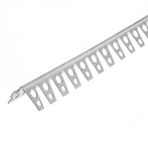 Ъгъл за свод PVC 20х20 мм, 2.5 м (10901)