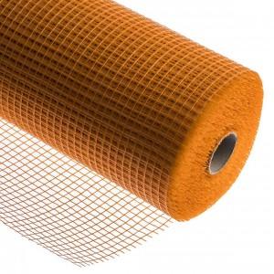 Мрежа стъклофибърна 160 гр./кв.м. оранжева (11863)