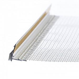 PVC Профил прозоръчен с мрежа 9 мм , 2.4 м (10932)