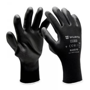Монтажни ръкавици Black PU , размер 10
