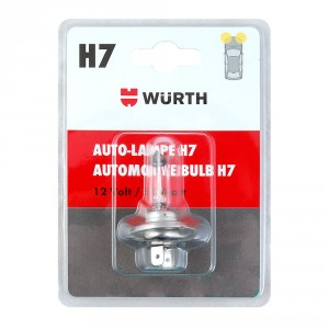 Автолампа блистер H7 , 24 V , 70 W , PX 26 D