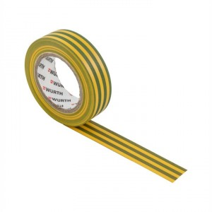 Изолирбанд PVC 18 мм , 10 м , жълто-зелен