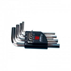 Комплект ключове Г-образни ZEBRA ,  SW1.5 - 10 , 9 бр.