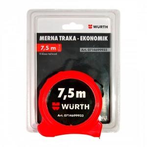 Ролетка Economic 7.5 м./25 мм.