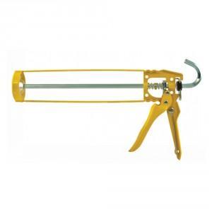 Пистолет за силикон 280/310 мл , жълт
