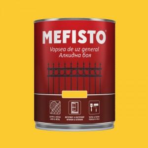Mefisto Алкидна боя , жълта RAL 1018 , 650 мл.