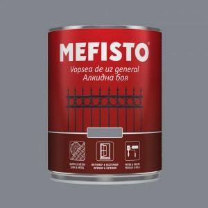 Mefisto Алкидна боя , сива RAL 7046 , 650 мл.