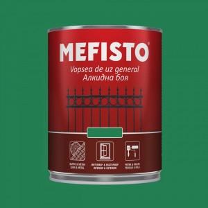 Mefisto Алкидна боя , зелена RAL 6032 , 650 мл.