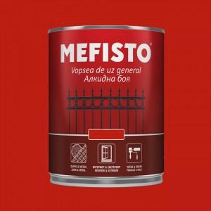Mefisto Алкидна боя , червена RAL 3020 , 650 мл.