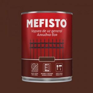 Mefisto Алкидна боя , тъмно кафява RAL 8016 , 650 мл.