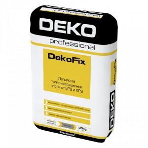 Лепилна смес за EPS и XPS DekoFix , 25 кг.