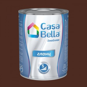 Casa Bella Емайллак гланц , RAL 8016 , 650 мл