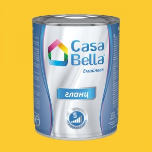 Casa Bella Емайллак гланц , жълт RAL 1018 , 650 мл