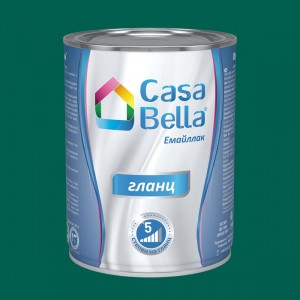 Casa Bella Емайллак гланц , тъмно зелен RAL 6026 , 650 мл