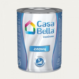 Casa Bella Емайллак гланц , бял RAL 9016 , 650 мл