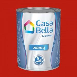 Casa Bella Емайллак гланц , червена RAL 3020 , 650 мл