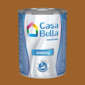 Casa Bella Емайллак гланц , RAL 8001 , 650 мл