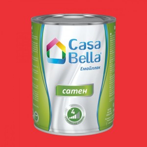 Casa Bella Емайллак сатен , червен , 650 мл.