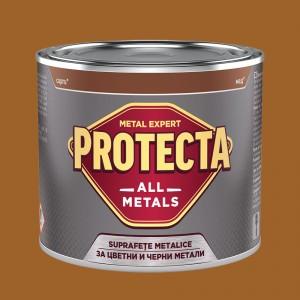 Боя за черни и цветни метали PROTECTA All Metals , бронз RAL 8001 , 500 мл.