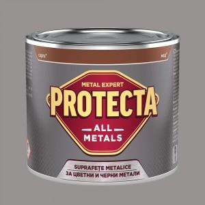 Боя за черни и цветни метали PROTECTA All Metals , платина RAL 7036 , 500 мл.