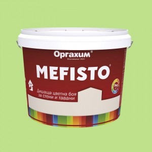 Mefisto Цветна дишаща боя , авокадо , 5 кг.