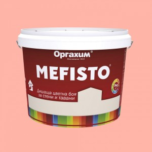 Mefisto Цветна дишаща боя , манго , 5 кг.