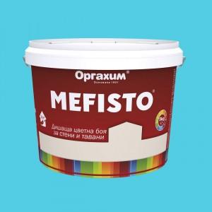 Mefisto Цветна дишаща боя , синя лагуна , 5 кг.