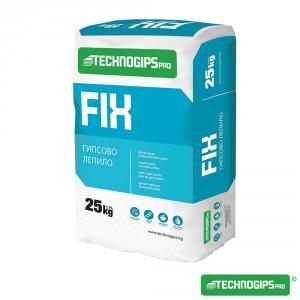 Гипсово лепило за гипсокартонени плоскости Technogips Pro FIX , 25 кг