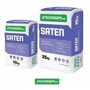 Гипсова ръчна шпакловка Technogips Pro SATEN